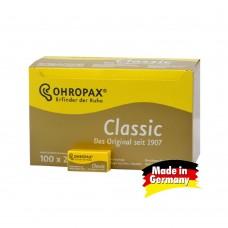 Восковые беруши для сна OHROPAX Classic 100x2 шт.