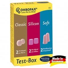 Беруши OHROPAX Test-Box (3 в 1)
