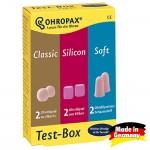 Беруши OHROPAX Test-Box (3-в-1)